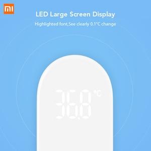 Image 4 - Xiaomi Oryginalny termometr Mijia iHealth bezdotykowy na podczerwień, przyrząd do mierzenia temperatury czoła dla dzieci i dorosłych, cyfrowy wyświetlacz, diody LED, urządzenie medyczne