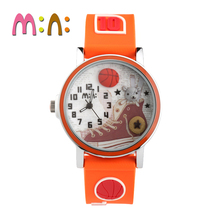 MINI Kids Watch Children Watch Fashion Cute Simple Girls Waterproof Korea Clock