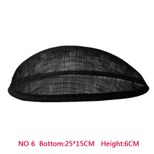 New Style 20*15 cm Sinamay Anomalistic Oval Base Hat Millinery Hat Base Form With Grosgrain Trimming  10pcs/lot b055 round saucer teardrop sinamay percher hat fascinator millinery craft base