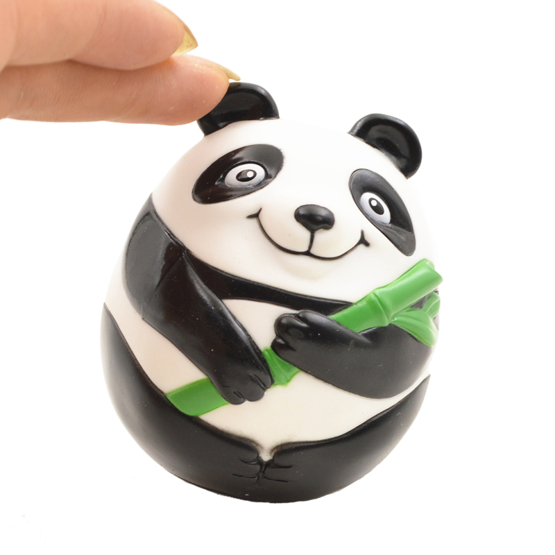Panda modeling roly-poly, baby doll toys tumbler,Chinese style tourist souvenirs