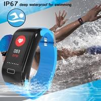 men waterproof LIGE Men Women Sport Smart Bracelet Bluetooth Clock Heart Rate Blood Pressure oxygen Sleep Monitor Pedometer Watch waterproof (2)