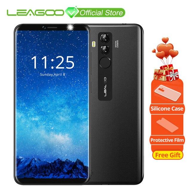 """LEAGOO M9 PRO 4 г смартфон 5,72 """"18:9 полный Экран Android 8,1 MT6739V 4 ядра 2 ГБ + 16 ГБ 3000 мАч лицо разблокировки мобильного телефона"""