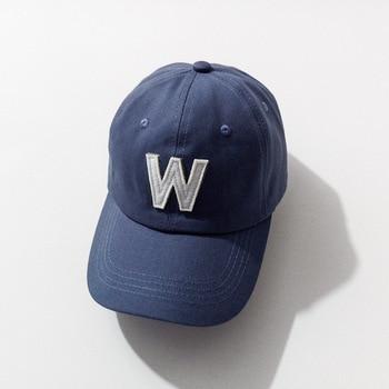 Baseball Cap  Embroidery Letter W Baseball Cap Snapback Caps Bone Hat Distressed Wearing Style Hats 70186 bone para bordar