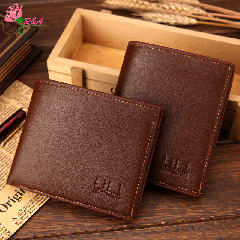 Men Wallet Men Contracted Purse PU Leather Wallets Short Money Clip Wallet Male Clutch Bag Portfolio Purses Cartera Hombre n-032 автомобиль самосвал полесье констрак зелёный в коробке 44822