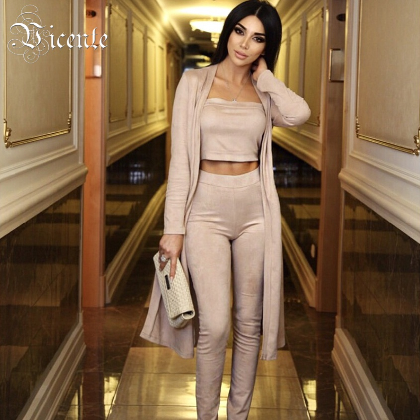 Free Shipping 2017 New Hot Stunning Three Pieces Set Celebrity Party font b Women b font