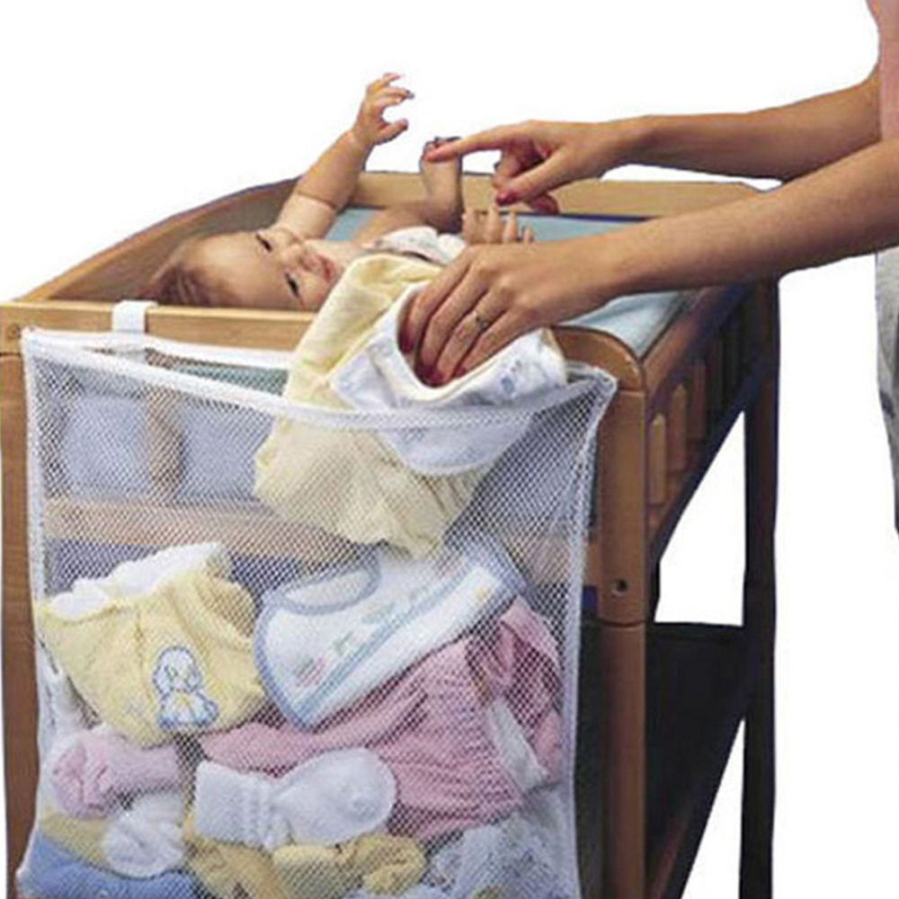 Multipurpose Baby Storage Bag Baby Dirty Clothes Bag Bed Large Hanging Storage Bag Organizer Baby Bedside Pouch Organization