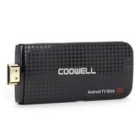 COOWELL Coowell V5 4K Android 6.0 TV Box Quad-core Amlogic S905X DLNA 2.4G WiFi Display Receiver TV Stick TV Box for Home Use