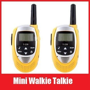 T-228 2PCS Multi-Channels Two-Way 3KM Walkie Talkie Interphone