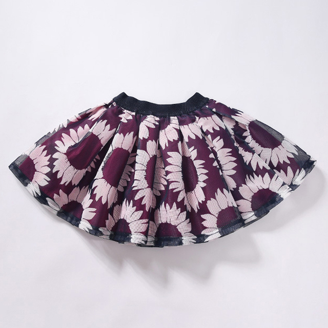 New Arrival Girls Clothing Printed girls skirts Baby girl Clothing Casual Korean Style Brand Clothes skirt girl