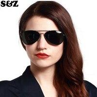 Luxury Brand Designer Aluminum Alloy Frame Polarized Sunglasses Women Outdoor Retro Oversize Sun Glasses Elegant Ladies