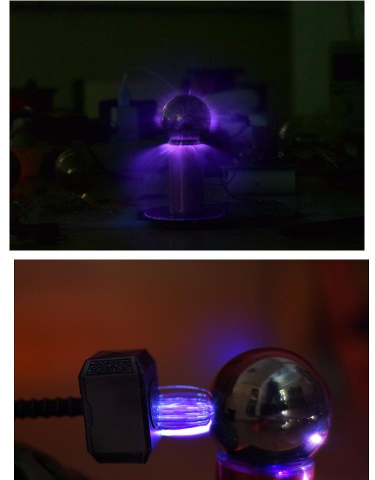 Mini expériences scientifiques de rendement élevé de bobine de Tesla de mini générateur artificiel superbe de foudre nécessaires