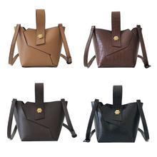 f353b69b97 2 pièces/ensemble femmes dame en cuir sac à bandoulière Vintage sac à main  sacoche embrayage porte-monnaie sacs de maquillage