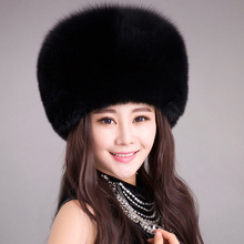 Women winter fake mink fur Hats fur and fake hat girls Accessories knitted fur caps feminine 2017 model  Russian heat beanies hat