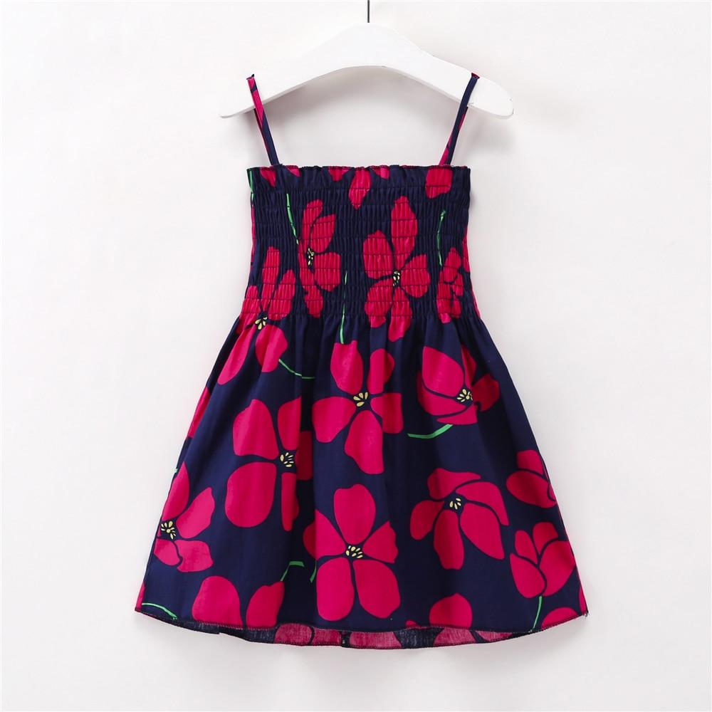 bd537df0ae70 Vestidos de niños para niñas verano niña vestido sin mangas niño flor  estampado princesa vestido 1 2 3 4 5 6 7 años de ropa para niños ~ Hot Deal  June 2019