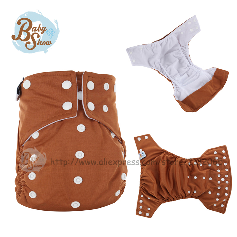 Newborn Baby AI2 Cloth Diaper Cover 1 Pcs Reusable Diapers+Nappy Fralda Training Pants Jinobaby 5-12 Kg Baby Wizard Diapers