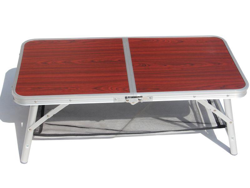 Ensembles de jardin offre spéciale prise facile Portable en alliage d'aluminium pli pique-nique bureau Table occasionnelle chaise de plage, chaise de loisirs