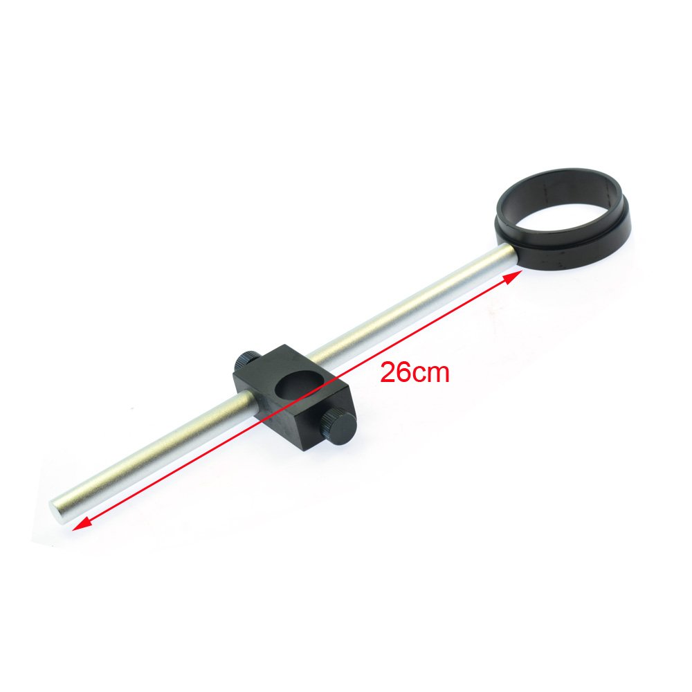 HAYEAR 25mm Microscope LED Light 360 degree rotation horizontal Arms up and down move for video microscope Stereo microscope