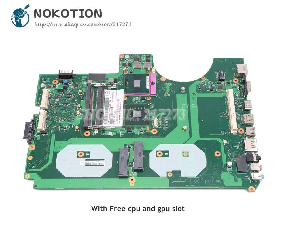 NOKOTION Laptop Motherboard For Acer aspire 8930 8930G MAIN BOARD DDR3 with graphics slot 6050A2207701-MB-A02 MBASZ0B001 4h 0kf02 a02 power board
