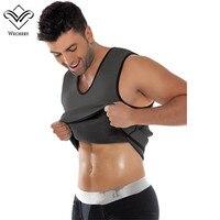 Slimming Belt Slimming Vest Men Body Shaper Neoprene Shaper Gym Corset Posture Waist Trainer Training Corsets