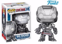 1pcs FUNKO POP Marvel&The Iron Man War Machine Vinyl Doll Boy Girl Birthday Baby Shower Vinyl Action & Toy Figures Gift