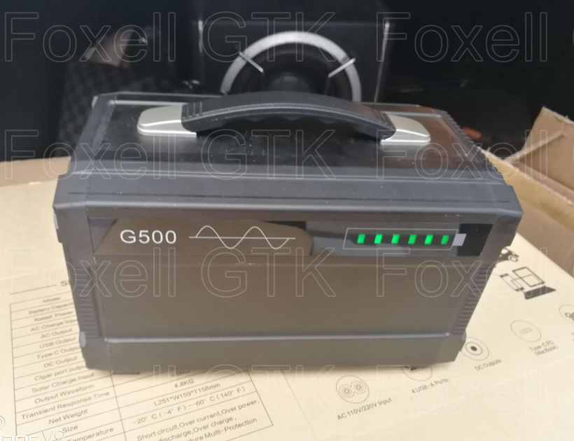 500w Portable Mini Ups Generator Solar Power Inverter