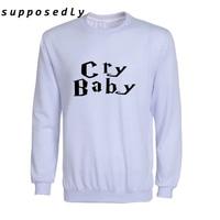 Vrouwen Herfst Stijl Sweatshirts Modieuze Cry baby 3D print Sweatshirt Trainingspak Harajuku Merk Hip Hop Kawaii Hoodies