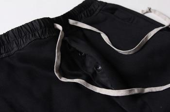 Mens joggers Casual trousers harem pants Men black Fashion swag dance drop crotch Hip Hop sweat pants sweatpants 10