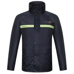 Image 2 - Raincoat men rain pants suit waterproof motorcycle rain jacket poncho table size Large Size fishing suit rainwear durable