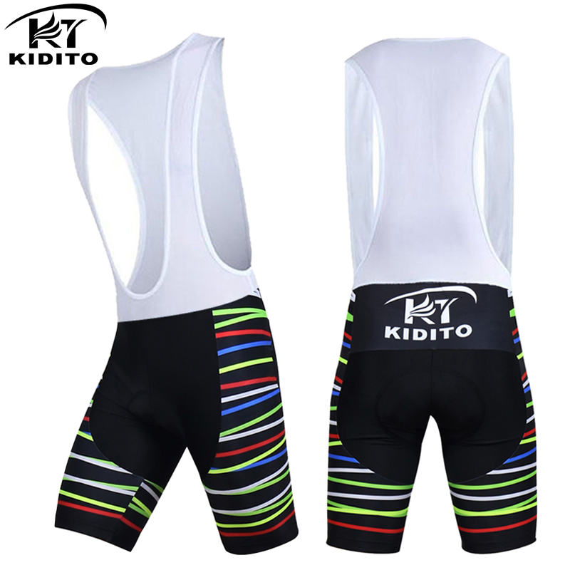 KIDITOKT Leilani Cycling Shorts With 3D Anti Slip Padded Gel Summer Bicycle Short Pants Culotes Ciclismo