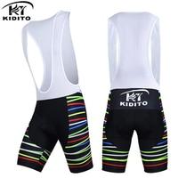 KIDITOKT Leilani Cycling Shorts With 3D Anti Slip Padded Gel Summer Bicycle Short Pants Culotes Ciclismo