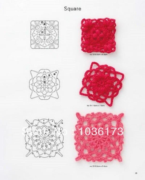 Japanese Craft Knit Crochet Pattern Book Kazekobo Favorite Motif 150