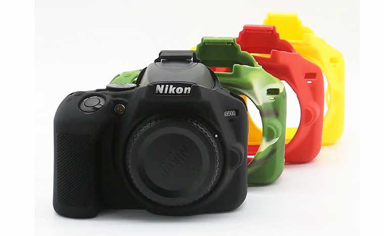 Silicone Armor Skin Case Body Cover Protector For Nikon D750