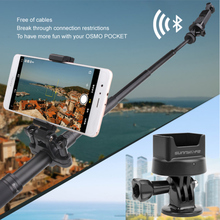 Modified Bluetooth Wireless Module Adapter for DJI OSMO POCKET Handheld Gimbal Camera Wireless Bluetooth Mount Adapter for gopro