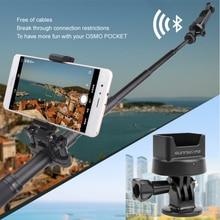 Zaktualizowane Bluetooth bezprzewodowy Adapter modułu dla DJI OSMO kieszeń kardana ręczna kamera bezprzewodowa Bluetooth do montażu na Adapter do gopro
