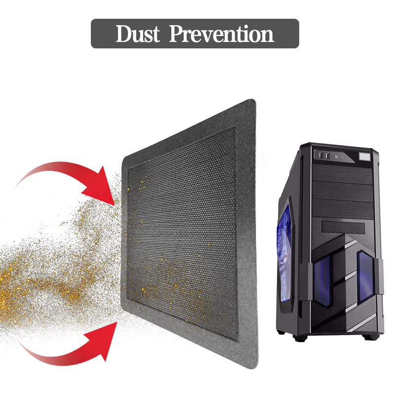 cpu cooler 14cm Computer cooler PC Case Cooling Fan Magnetic Dust Filter Mesh Net Cover Guard water cooler