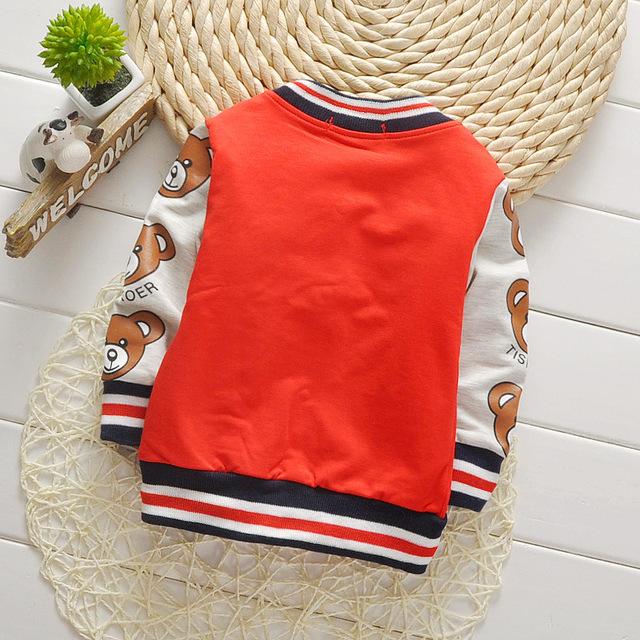 Children Girls Clothes Kids Baseball Infant Sweatershirt Toddler Fashion Brand Jacket 2019 Spring Autumn Baby Outwear Boys Coat