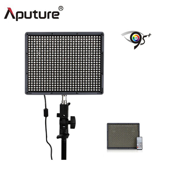 Aputure Photography Light Amaran HR672S CRI95+ Led Video Camera Light Panel 5500K For Camera Wireless Remote+2xNP-F970 Batteries
