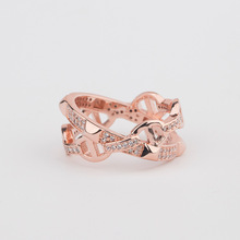 Yagin Zircon Set with European and American New Fashion Personality Rings Jewelry Wholesale