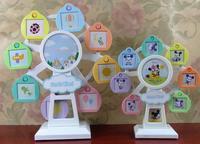 Plastic Picture Frame Ferris Wheel Rotating Windmill Swing Sets Children S Music Studio Photo Frames Creative