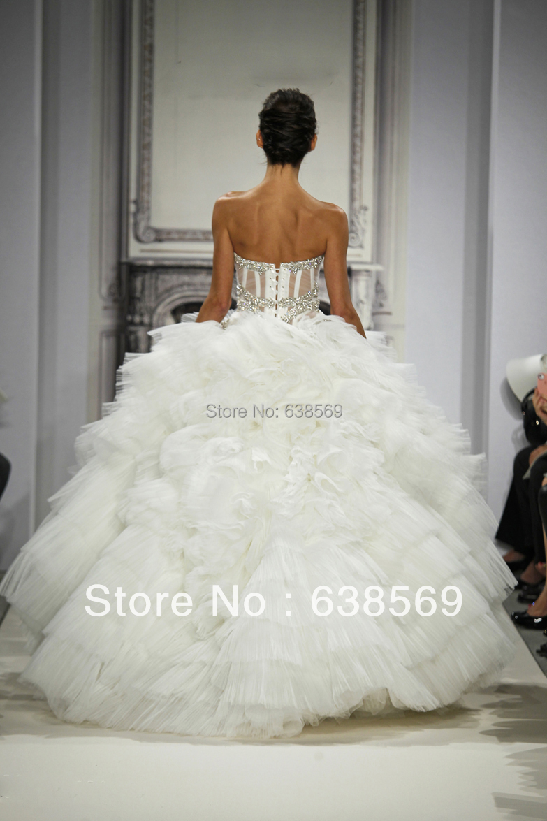 Sexy Pnina Tornai Bridal Gowns Vintage Castle Ball Gown Sweetheart Bones  See Through Corset Crystal Beaded Wedding Dresses-in Wedding Dresses from  Weddings ... 41884b4ccf08