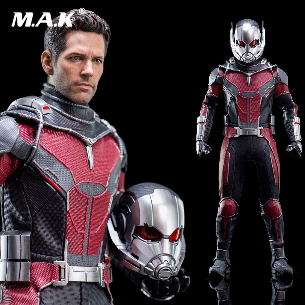 1:6 Ant Man doll 1/6 Scale Captain America 3 Ant-Man 2.0 Collectible Action Figure Model MMS362 Figure full set for collection ant man ant man yellow jacket 6 5cm mini figure with acrylic base action figure toys