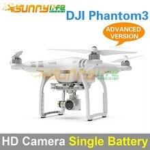 DJI Phantom 3 de Cuatro ejes Quadcopter Flyer HD Cámara De Alta Definición Versión Avanzada con Una Sola Batería