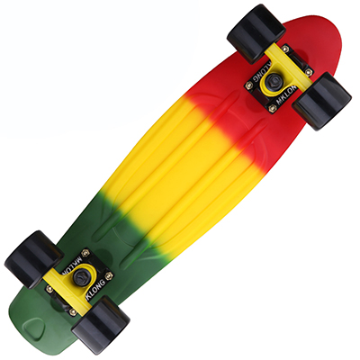 Peny Board colorful Rainbow Skateboard Complete Retro Girl Boy Cruiser Mini  Longboard complete Skate Fish Long Board skate wheel-in Skate Board from