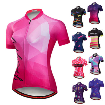 JPOJPO Quick Dry Cycling Jersey Women 2020 Pro Team Bicycle Clothing Maillot Ciclismo Summer MTB Bike Jersey Racing Cycling Wear santic triathlon cycling jersey men 2018 pro team quick dry bike jersey cycling clothing swimming running bicycle skinsuit wear