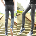 Spot wholesale spring and summer men's fashion jeans Slim Straight Men's jeans Korean version of the trend