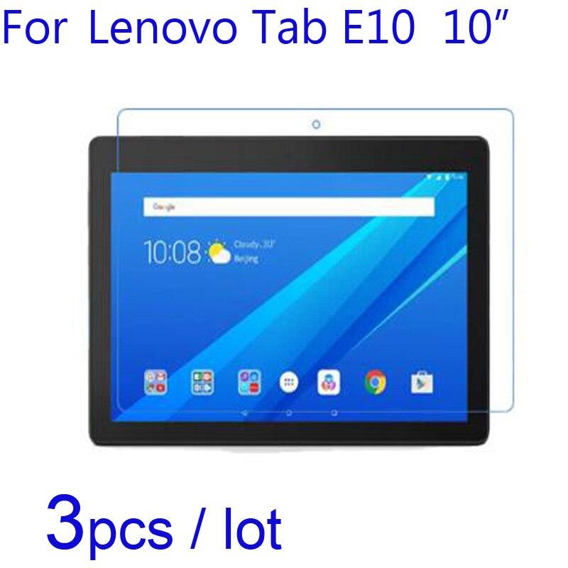 For Lenovo Tab E10 10 Laptop Tablet Screen Protectors 3pcs Lot Soft Clear Matte Nano Anti Explosion Protective Film For Tab E10 Phone Screen Protectors Aliexpress