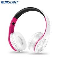 Wonstart Foldable Bluetooth Headphones Wireless Fone De Ouvido Sem Fio Auriculares Bluetooth With Microphone TF Card