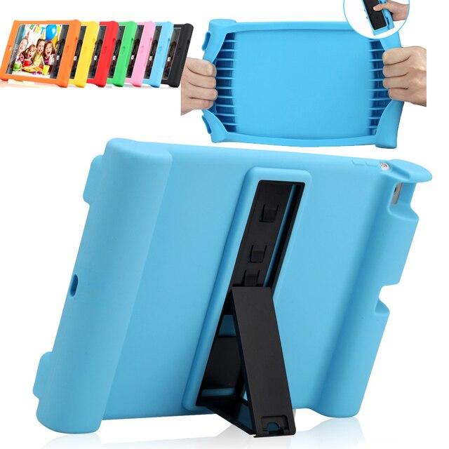 Мягкий силиконовый чехол чехол для Apple iPad 2/3/4 iPad2 iPad3 iPad4 tablet stand обложка противоударный выдерживает падения с высоты защитный чехол