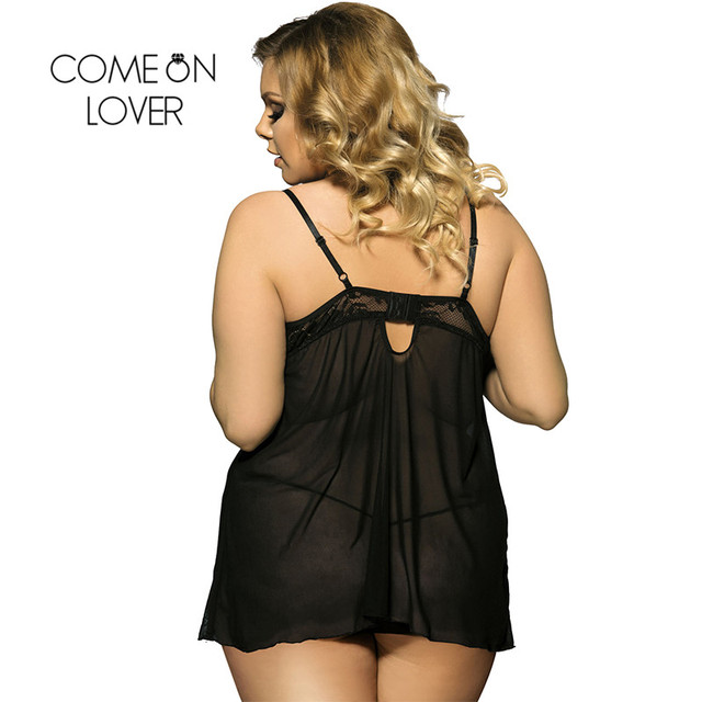 Lingerie purchase to size plus