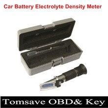 Envío libre Tres-en-un Coche Batería Eléctrica Medidor de Densidad Clectric Gravidness Hidrómetro de Succión Del Coche Probador